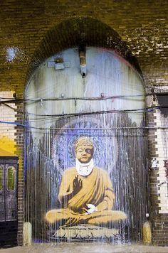 Las 50 mejores obras urbanas de Banksy : Distorsion Urbana