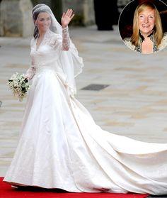 Kate Middleton's Wedding Dress Desi...