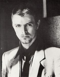 David Bowie Resembles Jude Law here.   Or vice versa...