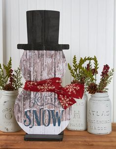 Our etched snowmen are the perfect addition to your winter decor. Each snowman…