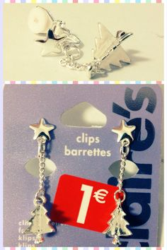 Christmas Tree Earrings from Claire's - Sale@€1,-