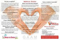 Seja um doador Voluntario de Medula Óssea!