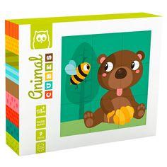 Animal cubes rompecabezas 2