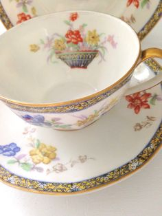 Antique French Limoges Theodore Haviland France by MariasFarmhouse, $125.00
