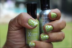 Get Funky with this DIY manicure / Funky Look para mis uñas #beauty