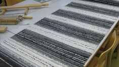 Recycled Fabric, Woven Rug, Recycling, Weaving, Rag Rugs, Inspiration, Carpets, Decoration, Home Decor