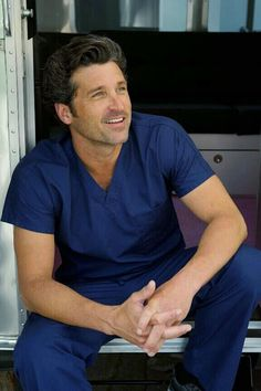 Greys anatomy 30 day challenge. Day 9. Fave actor. Patrick Dempsey