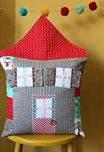 If you know of a special little someone who loves fairy tales, you can show them a fun way to add this to their room with the Fairy Tale House Pillow. Get creative with your applique quilt designs and patchwork quilt patterns.