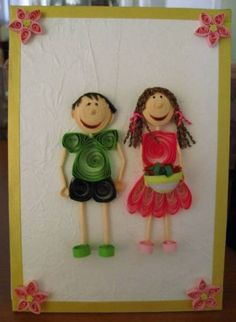 You  Me - Quilled Creations Quilling Gallery