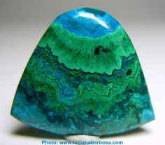 """Beautiful image of Malachite and Chrysocolla. Malachite is a stone of fidelity and faithfulness. It also helps to release those difficult emotions. Chrysocolla is referred to being a """"wise"""" stone, as it helps us to make correct decisions.     The colours here are phenomenal."""