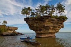 Turnip Rock   Port Austin, Michigan