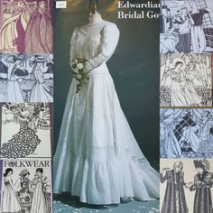 I lucked into a huge pile of uncut Folkwear patterns for antique and ethnic replica clothing yesterday. Here is just a taste. The majority are in my eBay store and a few on Etsy. . . . #vintagesewing #folkwear #costumepatterns #periodclothing #weddinggowns #edwardianclothing #vintagepatterns #ebaystore #etsyshop