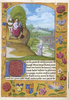 Royal 19 C VIII f. 3 Knight and Imagination