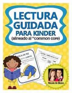 Kindergarten Guided Reading Pack in Spanish