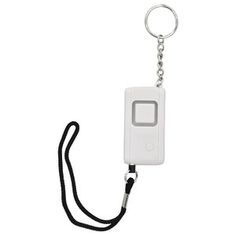 GE Personal Keychain Security Alarm alarm sounds when pin is removed from key chain ; Handy security alarm & light is convenient to carry ; Built-in guide light ; Security Companies, Security Tips, Security Solutions, Security Alarm, Safety And Security, Home Security Systems, Security Camera, Alarm Companies, House Security