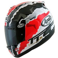 Awesome Arai special TT lilmited edition Mick Doohan helmet. This was created when Doohna