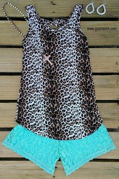 Leopard Dream Catcher Tank Top