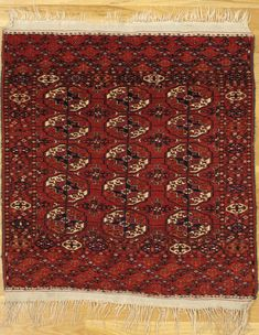 Tekke Small Square Rug West Turkmenistan Circa Of The Cm