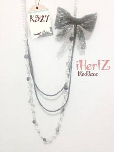 pearl necklace - ihertz IDR 45.000