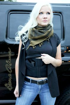 The latest CCW holster for woman is the Concealed Carry Corset. Concealed Carry Weapons, Concealed Carry Women, Glock Girl, Best Lingerie, Nice Lingerie, Gun Holster, The Victim, Girls Be Like, Just In Case