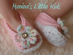 Crochet Baby Shoes by Art Cakes, via Flickr
