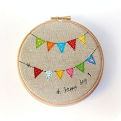 nursery embroidery hoop - Google Search