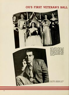 "Athena Yearbook, ""Ohio Universities First Veteran's Ball. Veterans Memorial Day, Alpha Sigma Alpha, Digital Archives, University, The Unit, Poses, Figure Poses, Colleges"