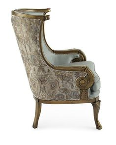 Massoud Adeline Chair is part of Chair - Shop Adeline Chair from Massoud at Horchow, where you'll find new lower shipping on hundreds of home furnishings and gifts Royal Furniture, Handmade Furniture, Furniture Chairs, French Furniture, Furniture Plans, Room Chairs, Rustic Furniture, Office Furniture, Bedroom Furniture