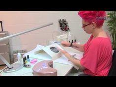 LED Gel Nägel selber machen. #video #ledgel #nails http://www.nded.de/uv-gel-farbgel/led-gele/
