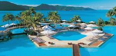 Hayman Island Resort is luxurious five star resorts located on Heyman Island, Great Barrier Reef. Need A Vacation, Vacation Places, Vacation Destinations, Dream Vacations, Vacation Spots, Places To Travel, Romantic Destinations, Romantic Getaways, Great Barrier Reef