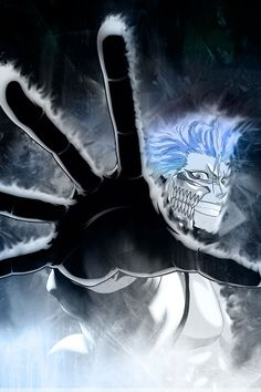 He's just cool / He is. I always like Grimmjow.