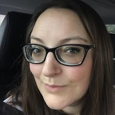 """12b44bb3cdb4 Alicia Anderson on Instagram  """"One thing I love (probably the only thing)  about my super thick glasses  they hide makeup imperfections!"""