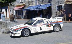 TOUR DE CORSE 1983 1º Markku Alen - LANCIA 037 RALLY