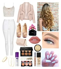 """"" by celinapds ❤ liked on Polyvore featuring beauty, New Look, Christian Louboutin, Topshop, Zizzi, Givenchy, NARS Cosmetics, Urban Decay, Anastasia Beverly Hills and ULTA"