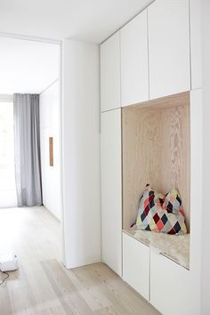 Built-in Wardrobes Part 2 - What& in the Built-in Wardrobe? - In the first post of the built-in wardrobe series, we looked at the overall effect of the wardrobe - Hallway Storage, Ikea Storage, Built In Storage, Storage Spaces, Shoe Storage, Kitchen Storage, Storage Cabinets, Wall Cabinets, Wall Storage