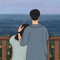 Cute Couple Drawings, Cute Couple Cartoon, Cute Couple Art, Cute Cartoon Drawings, Cute Love Cartoons, Anime Couples Drawings, Cartoon Art Styles, Cute Anime Couples, Girl Cartoon