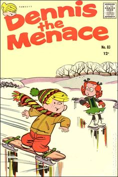 A cover gallery for the comic book Dennis the Menace Old Comic Books, Vintage Comic Books, Vintage Cartoon, Comic Book Covers, Vintage Comics, Classic Comics, Classic Cartoons, Dennis The Menace Cartoon, Nostalgia