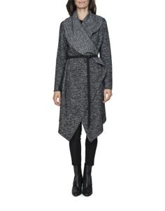 Wool Blend Waterfall Coat will keep her warm from her knees to her throat! I Love Mom, My Mom, Waterfall Coat, Winter Warmers, Beautiful Gifts, Winter Collection, Winter Coat, Wool Blend, Mothers