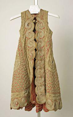 'Pirpiri'-coat. Late-Ottoman clothing from the Balkans (Epirus or Albania). 19th century.