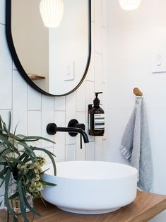 above counter basin ensuite bathroom furniture Diy Bathroom Decor, Simple Bathroom, Bathroom Interior, Master Bathroom, Bathroom Ideas, Bathroom Styling, White Bathroom, Turquoise Bathroom, Bronze Bathroom