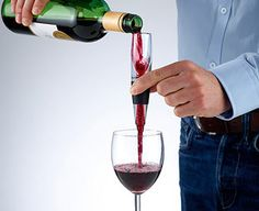 Original Gift Company Vinalito Wine Aerating Pourer Get the very best flavours out of your red wine – even if you don't have time to let it breathe. Just hold this mini wine aerator over your glass to add just the right amount of air as you pour from t http://www.MightGet.com/february-2017-2/original-gift-company-vinalito-wine-aerating-pourer.asp