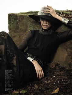 boho dark: diana moldovan by henrique gendre for vogue brazil may 2013 | visual optimism; fashion editorials, shows, campaigns & more!