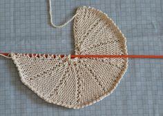 Con un filo: Tutorial - how to knit a circle