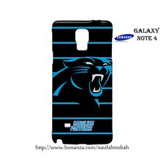 Carolina Panthers Samsung Galaxy Note 4 Case Cover Wrap Around