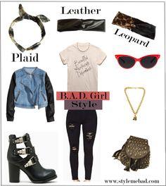 bad girl style fall essentials #myteebad #plaid #flannel #grunge #style
