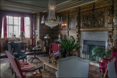 The sitting room, Burton Agnes, East Yorkshire by alanhitchcock49, via Flickr