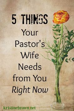 Our pastor's wives need our support. Here's how we can help.