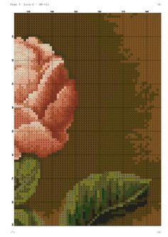 View album on Yandex. Cross Stitch Rose, Cross Stitch Flowers, Counted Cross Stitch Patterns, Cross Stitch Designs, Flowers For You, Cutwork, Cross Stitching, Flower Designs, Embroidery Stitches