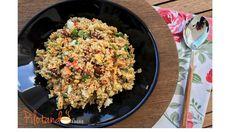 Quinoa com legumes - alimento completo