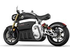 "Lito Sora Electric Motorcycle. ""With no clutch and incredible torque you'll go from 0-180 miles-an-hour like you're floating on air. Full charge lasts nearly 300 miles. This is evolution, get on board."""
